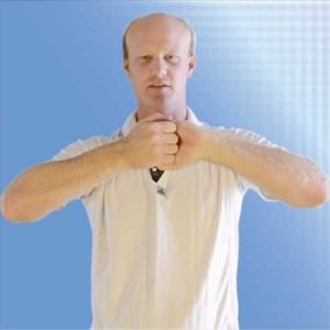 California Golf Schools Rotator Cuff exercise 3 Static Position
