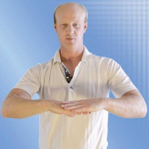 California Golf School Static Position rotator cuff golf exercise 3