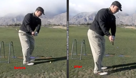 Golf Swing Take Away Perfection Video Cahill Golf Instruction