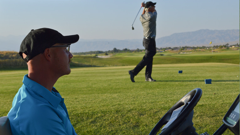 Private golf lessons with PGA Professionals