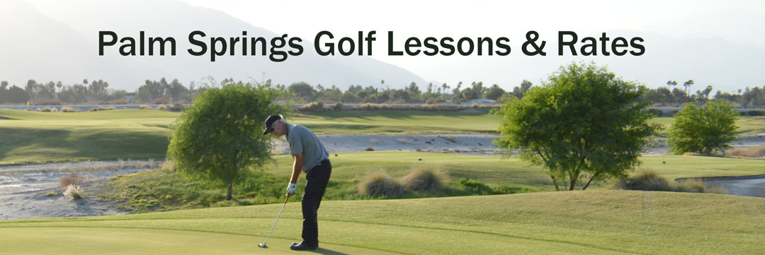 Palm Springs golf instruction rates