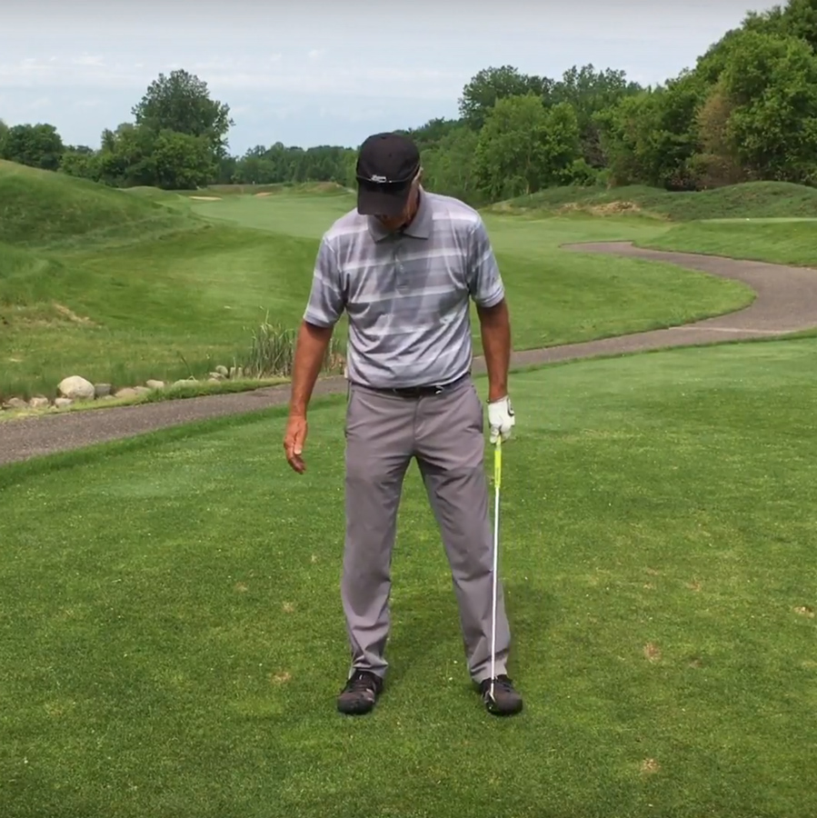 Golf Backswing Drill – Positioning at the Top   Cahill Golf